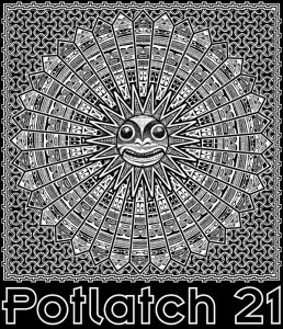 Potlatch 21 T-Shirt Design
